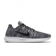 Free RN Flyknit Running Shoe - Men's-White-8