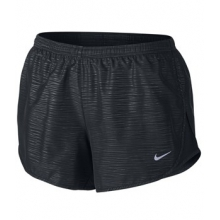 Embossed Tempo Short - Women's-Black-L