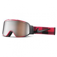 Fade Ski Goggles Adults', Gym Red/Black Checker by Nike