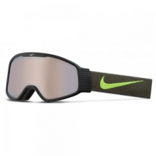 Mazot Snow Goggle Adults', Black/Volt by Nike