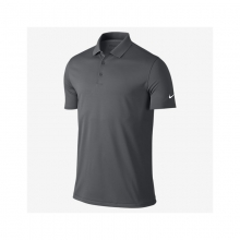 Mens Victory Solid Golf Polo - New Dark Grey Medium