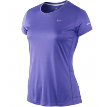 Miler Short Sleeve Running Shirt - Women's-M