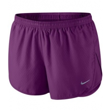 Tempo Emboss Shorts - Women's-Purple-L
