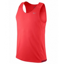 Miler Team Tank - Men's-LT Crimson-M