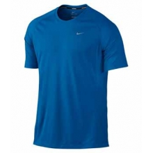 Nike Dri-Fit UV Miler Short Sleeve Shirt - Men's-S
