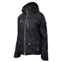 Evar Insulated Jacket - Women's - Black Crosshatch In Size: 12