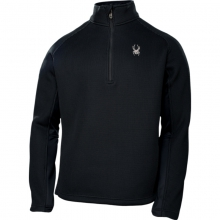 Mens Pitch Half Zip Sweater - Sale Black Medium