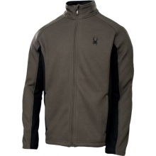 Mens Constant Full Zip Sweater - Closeout Osetra/Black Medium by Spyder
