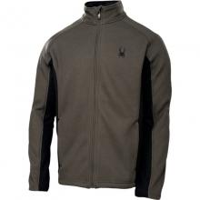 Mens Constant Full Zip Sweater - Closeout Osetra/Black Medium