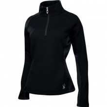 Womens Valor Half Zip - Sale Black/Silver X Small by Spyder