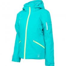 Project Insulated Ski Jacket Women's, Riviera/Riviera Linear Emboss/Silver, 14 by Spyder