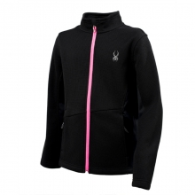 Girls Endure Full Zip - Sale Black/Bryte Bubblegum/Bryte Bu