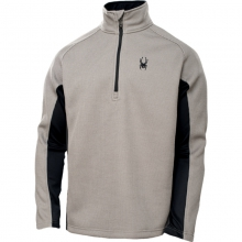 Mens Outbound Half Zip Sweater - Sale Graystone/Black/Black