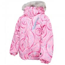 Bitsy Lola Ski Jacket Little Girls', Chill Pinwheel Print/Pure, 3 by Spyder