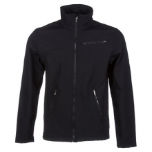 Fresh Air Softshell Jacket Men's, Black/Slate, S by Spyder