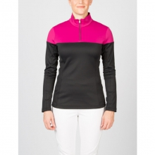 Womens Etna T-Neck - Closeout Black/Wild 02 by Spyder