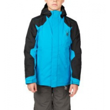 Flyte Jacket - Boy's - Electric Blue/Black/Polar In Size: 16