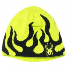 Mini Fire Hat Little Boys', Black/Volcano,