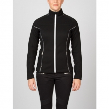Womens Virtue Full Zip Sweater - Sale Black/White Medium