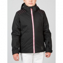 Girls Glam Jacket - Closeout Black/Bryte Bubblegum/Black Vy 08