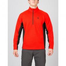 Mens Outbound Half Zip Sweater - Sale Polar/Black/Polar Medium by Spyder