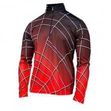 Gradient Web Dry WEB T Neck Mens Mid Layer by Spyder