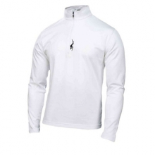 Buckhorn Cotton Poly Neck Mens Mid Layer