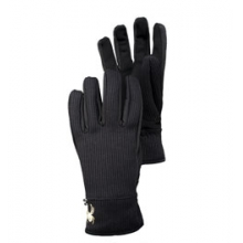 Stryke Fleece Conduct Glove - Men's - Black In Size by Spyder