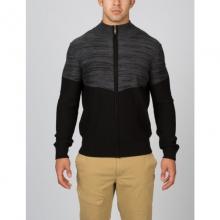 Mens Eqyl Full Zip Sweater - Closeout Black/Polar Large by Spyder