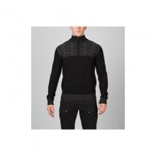 Mens Hylo Half Zip Sweater - Closeout Black Medium by Spyder