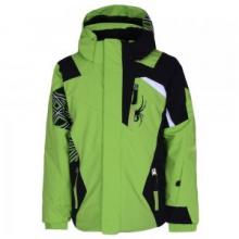 Mini Challenger Insulated Ski Jacket Little Boys', Theory Green/Black/White, 2