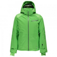 Radiant Insulated Ski Jacket Girls', Green Flash, 8