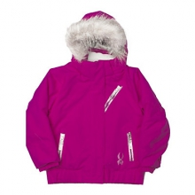 Bitsy Lola Insulated Ski Jacket Little Girls', Bryte Bubblegum Focus/Shatter, 4