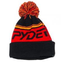 Icebox Hat Boys', Black/White/Volcano, by Spyder