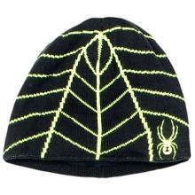 Mini Web Hat Little Boys', Black/Volcano,