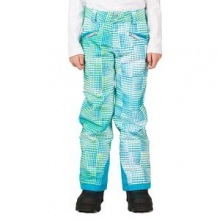 Vixen Athletic Fit Insulated Ski Pant Girls', Riviera Diamond Print, 16