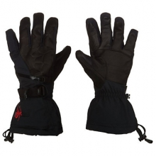 Omega Conduct Ski Glove Men's, Black/Polar, L by Spyder