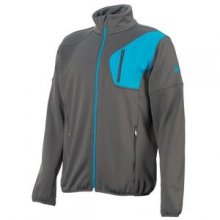 Bandit Full Zip Fleece Jacket Men's, Polar/Electric Blue, L by Spyder