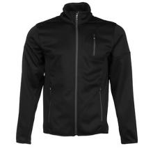 Bandit Full Zip Fleece Jacket Men's, Black/Polar, L by Spyder