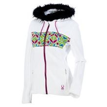 Core Soiree Faux Fur Hood Womens Sweater (Previous Season)