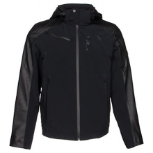 Icon Insulated Ski Jacket Men's, Black, L by Spyder