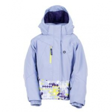 Bitsy Mynx Ski Jacket Little Girls', Amethyst/Dreamy/Sharp Lime, 4