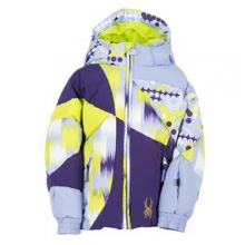 Bitsy Duffy Puff Ski Jacket Little Girls', Amethyst/Regal/Dreamy, 2