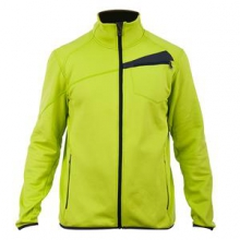 Bandit Full-Zip Fleece Jacket Men's, Sharp Lime/Slate, L