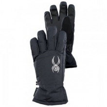 Collection GORE-TEX Glove Girls', Black, L by Spyder