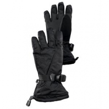 Overweb Glove Boys', Black/Black, S by Spyder