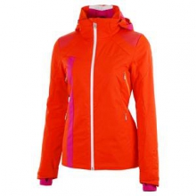 Temerity Insulated Ski Jacket Women's, Sizzle/Girlfriend/Bryte Orange, 12