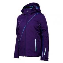 Menage A Trois 3-in-1 Ski Jacket Women's, Regal/Girlfriend Print, 2 by Spyder