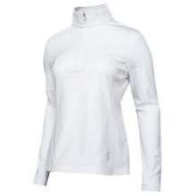 Flicker Therma Stretch Mid-Layer Top Women's, White/White, 12