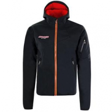 Mercury GT Softshell Jacket Men's, Black/Volcano/Bryte Orange, M